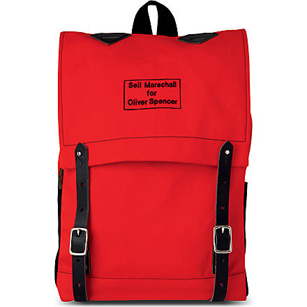 OLIVER SPENCER Brit survival backpack (Red