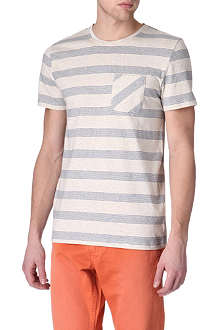 OLIVER SPENCER Rapid stripe t-shirt
