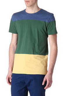 OLIVER SPENCER Tri-panel t-shirt