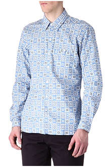 OLIVER SPENCER Jet Loop single-cuff shirt