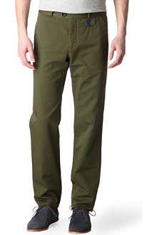 OLIVER SPENCER Fishtail trousers
