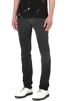 HELMUT LANG Trace slim-fit tapered jeans