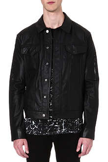 HELMUT LANG Perforated leather jacket