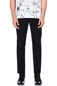 HELMUT LANG Spring cotton-twill trousers