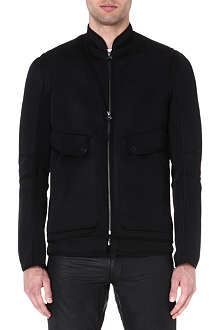 HELMUT LANG Perforated mesh jacket
