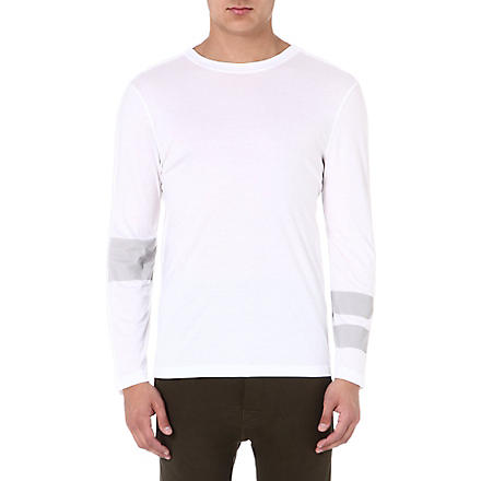 HELMUT LANG Mercer jersey technique top (White