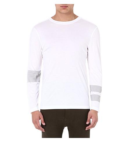 HELMUT LANG Mercer jersey technique top (White