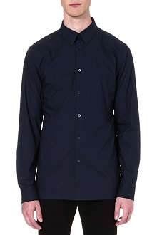 HELMUT LANG Tech cotton-poplin shirt