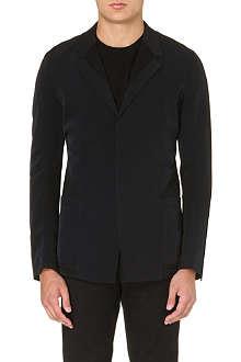 HELMUT LANG Mesh-panelled blazer