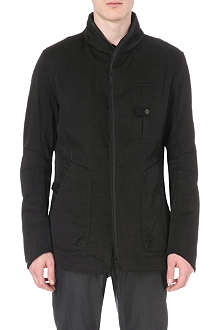 HELMUT LANG Zip-detailed twill jacket