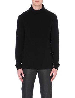 HELMUT LANG Cashmere roll-neck jumper