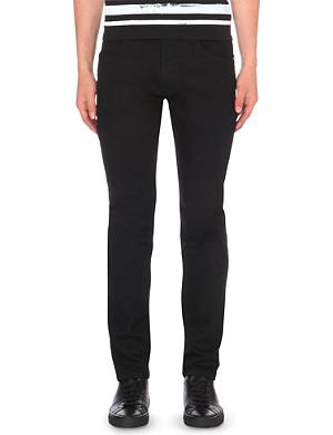 HELMUT LANG Trace denim straight-leg black wash jeans