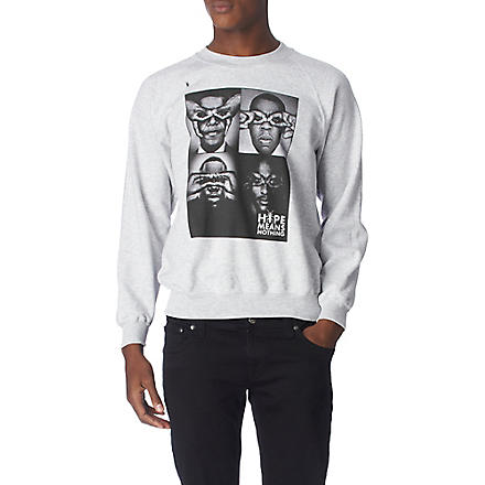 HYPE MEANS NOTHING Total Four sweatshirt (Grey
