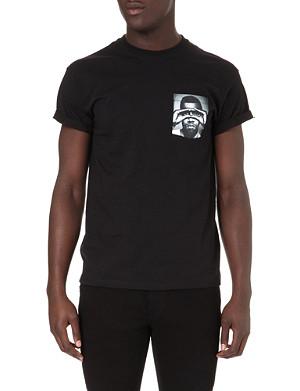 HYPE MEANS NOTHING Kanye West pocket t-shirt