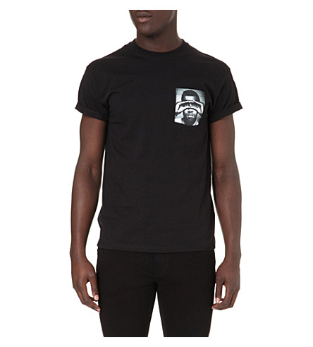 HYPE MEANS NOTHING Kanye West pocket t-shirt (Black