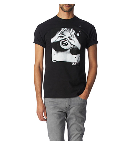 HYPE MEANS NOTHING Marilyn t-shirt (Black