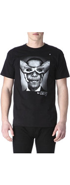HYPE MEANS NOTHING Obama hand-glasses t-shirt