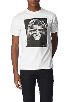 HYPE MEANS NOTHING Steve McQueen t–shirt