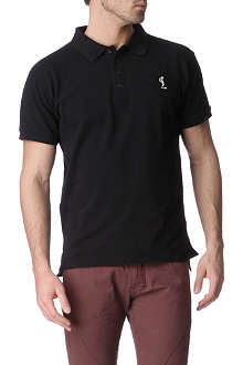 RELIGION Embroidered polo shirt