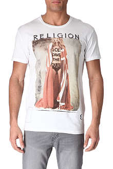 RELIGION God Save The Queen t-shirt