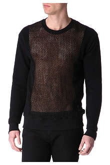 RELIGION Mesh-panel jumper