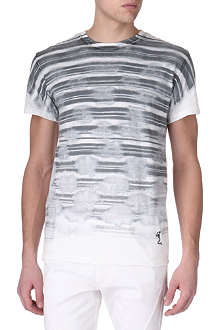 RELIGION Paint stripe t-shirt