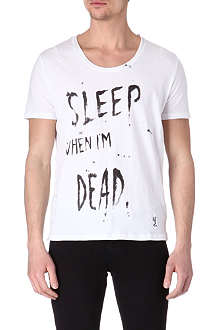RELIGION Sleep When I'm Dead t-shirt