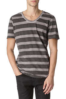 RELIGION Striped t-shirt