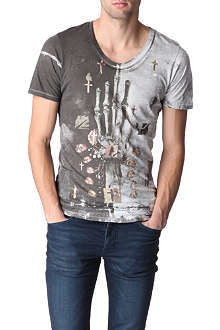 RELIGION Skeleton Hand t-shirt