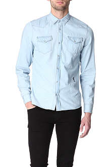 RELIGION Denim Western shirt