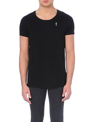 RELIGION Scoop-neck cotton t-shirt