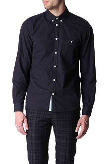MARC BY MARC JACOBS Contrast-trim slim fit single cuff shirt