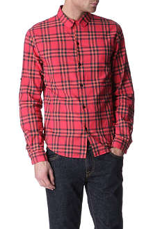 MARC BY MARC JACOBS Nico checked single cuff shirt