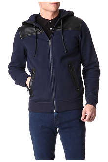 MARC BY MARC JACOBS Thompson leather-panelled hoody