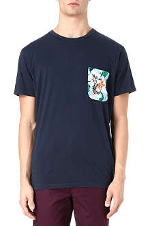 MARC BY MARC JACOBS Floral patch-pocket t-shirt