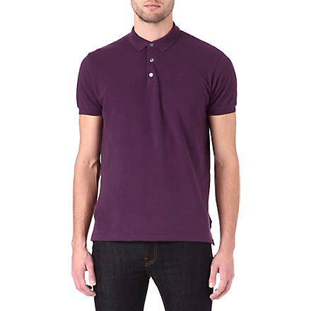 MARC BY MARC JACOBS Logo polo shirt (Hortensia