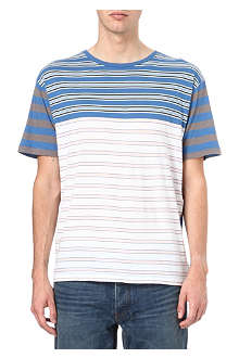 MARC BY MARC JACOBS Bailey stripe panel t-shirt