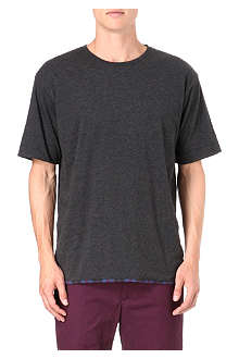 MARC BY MARC JACOBS Plaid combo t-shirt