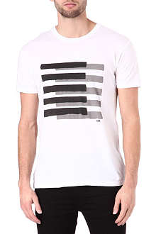 MARC BY MARC JACOBS Spray stripe graphic t-shirt