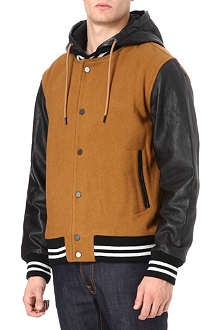 MARC BY MARC JACOBS Pensacola hooded varsity jacket