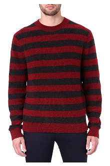 MARC BY MARC JACOBS Textured stripe jumper