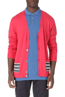 MARC BY MARC JACOBS Striped-panel cardigan