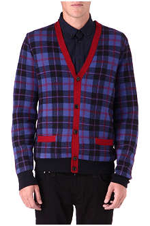 MARC BY MARC JACOBS Aimee plaid cardigan