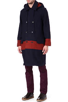 MARC BY MARC JACOBS Sweater panel coat