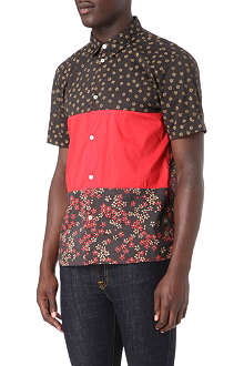 MARC BY MARC JACOBS Ace floral-panel shirt