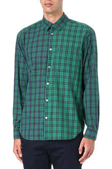 MARC BY MARC JACOBS Harmony plaid panel shirt