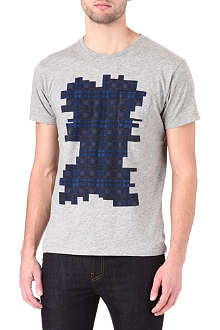 MARC BY MARC JACOBS Bromley plaid print t-shirt