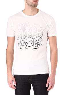 MARC BY MARC JACOBS Faded print t-shirt