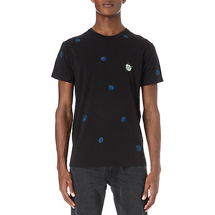 MARC BY MARC JACOBS Ladybug print t-shirt (Moonless
