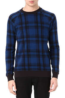 MARC BY MARC JACOBS Sheffield plaid sweatshirt